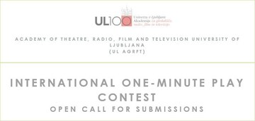 INTERNATIONAL ONE-MINUTE PLAY CONTEST FOR STUDENTS